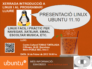 poster linux tortajada
