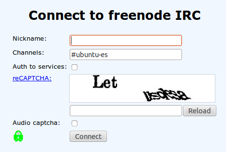 freenode IRC Linux chat