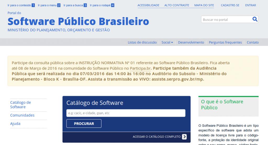 software publico brasil