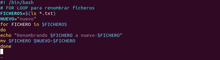 linux shell script
